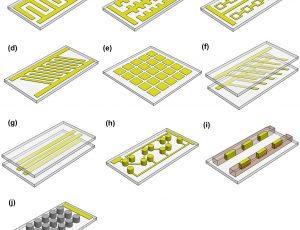DEP-on-chip-electrode
