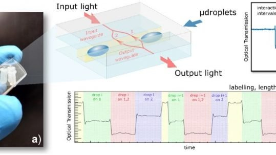precise microfluidic droplets label-sequencing